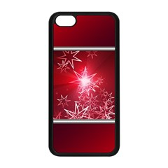 Christmas Candles Christmas Card Apple Iphone 5c Seamless Case (black) by BangZart