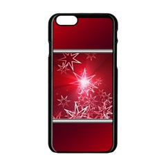 Christmas Candles Christmas Card Apple Iphone 6/6s Black Enamel Case by BangZart