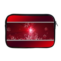 Christmas Candles Christmas Card Apple Macbook Pro 17  Zipper Case