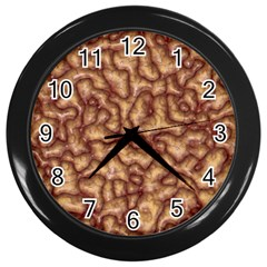Brain Mass Brain Mass Coils Wall Clocks (black)