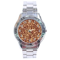 Brain Mass Brain Mass Coils Stainless Steel Analogue Watch
