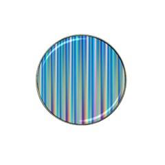 Colorful Color Arrangement Hat Clip Ball Marker (4 Pack)