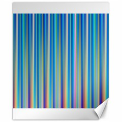 Colorful Color Arrangement Canvas 16  X 20