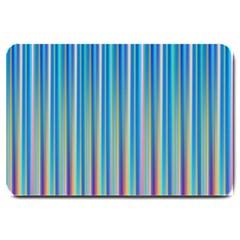 Colorful Color Arrangement Large Doormat