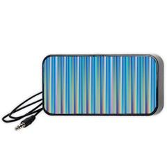 Colorful Color Arrangement Portable Speaker