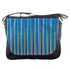 Colorful Color Arrangement Messenger Bags