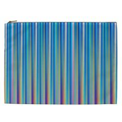 Colorful Color Arrangement Cosmetic Bag (xxl)