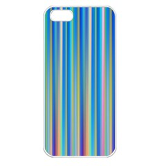 Colorful Color Arrangement Apple Iphone 5 Seamless Case (white)