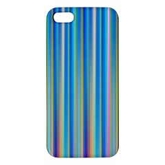 Colorful Color Arrangement Apple Iphone 5 Premium Hardshell Case