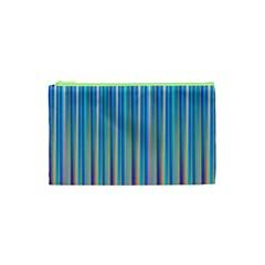 Colorful Color Arrangement Cosmetic Bag (xs) by BangZart