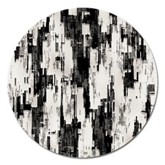 Pattern Structure Background Dirty Magnet 5  (round) by BangZart