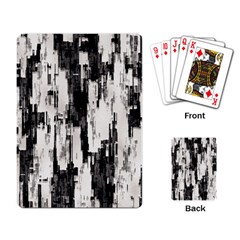 Pattern Structure Background Dirty Playing Card