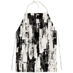 Pattern Structure Background Dirty Full Print Aprons by BangZart