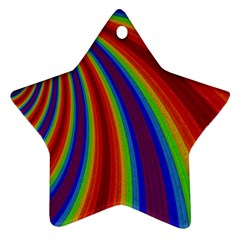 Abstract Pattern Lines Wave Ornament (star)