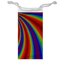 Abstract Pattern Lines Wave Jewelry Bag
