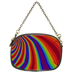 Abstract Pattern Lines Wave Chain Purses (one Side)