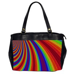 Abstract Pattern Lines Wave Office Handbags (2 Sides)  by BangZart