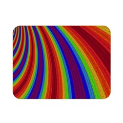 Abstract Pattern Lines Wave Double Sided Flano Blanket (mini)