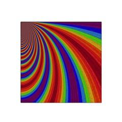 Abstract Pattern Lines Wave Satin Bandana Scarf