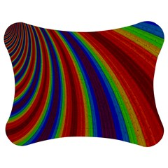 Abstract Pattern Lines Wave Jigsaw Puzzle Photo Stand (bow)