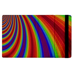 Abstract Pattern Lines Wave Apple Ipad Pro 9 7   Flip Case by BangZart