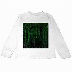 Matrix Communication Software Pc Kids Long Sleeve T Shirts