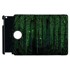 Matrix Communication Software Pc Apple Ipad 3/4 Flip 360 Case