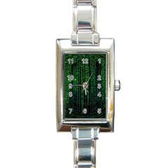 Matrix Communication Software Pc Rectangle Italian Charm Watch