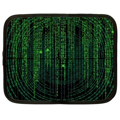 Matrix Communication Software Pc Netbook Case (xxl)  by BangZart