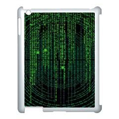 Matrix Communication Software Pc Apple Ipad 3/4 Case (white)