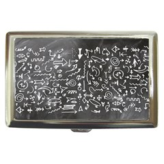 Arrows Board School Blackboard Cigarette Money Cases