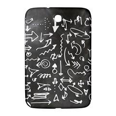 Arrows Board School Blackboard Samsung Galaxy Note 8 0 N5100 Hardshell Case  by BangZart