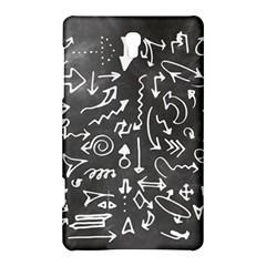 Arrows Board School Blackboard Samsung Galaxy Tab S (8 4 ) Hardshell Case