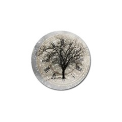 Snow Snowfall New Year S Day Golf Ball Marker (10 Pack) by BangZart