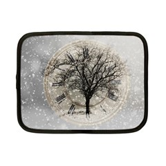 Snow Snowfall New Year S Day Netbook Case (small)
