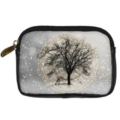 Snow Snowfall New Year S Day Digital Camera Cases
