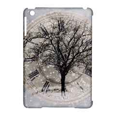 Snow Snowfall New Year S Day Apple Ipad Mini Hardshell Case (compatible With Smart Cover) by BangZart