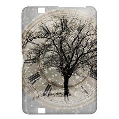 Snow Snowfall New Year S Day Kindle Fire Hd 8 9  by BangZart