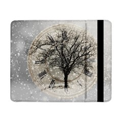 Snow Snowfall New Year S Day Samsung Galaxy Tab Pro 8 4  Flip Case
