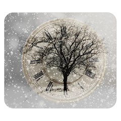 Snow Snowfall New Year S Day Double Sided Flano Blanket (small)