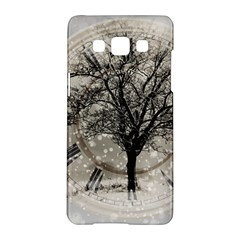 Snow Snowfall New Year S Day Samsung Galaxy A5 Hardshell Case  by BangZart