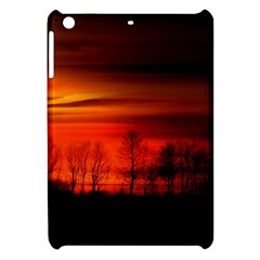 Tree Series Sun Orange Sunset Apple Ipad Mini Hardshell Case by BangZart