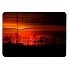 Tree Series Sun Orange Sunset Samsung Galaxy Tab 8 9  P7300 Flip Case