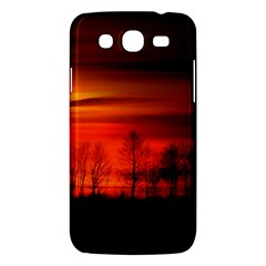 Tree Series Sun Orange Sunset Samsung Galaxy Mega 5 8 I9152 Hardshell Case  by BangZart