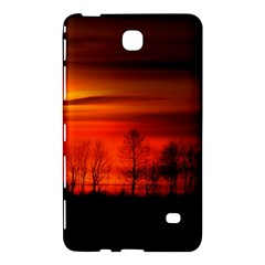 Tree Series Sun Orange Sunset Samsung Galaxy Tab 4 (8 ) Hardshell Case