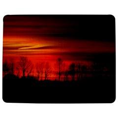 Tree Series Sun Orange Sunset Jigsaw Puzzle Photo Stand (rectangular)