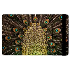 Peacock Feathers Wheel Plumage Apple Ipad Pro 9 7   Flip Case by BangZart