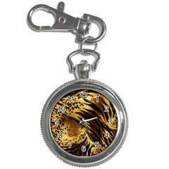 Pattern Tiger Stripes Print Animal Key Chain Watches