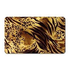 Pattern Tiger Stripes Print Animal Magnet (rectangular)