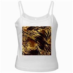 Pattern Tiger Stripes Print Animal Ladies Camisoles